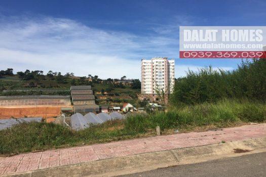 Đất liên kế KQH Nguyễn Hoàng Đà Lạt, đất vuông vức, view đẹp