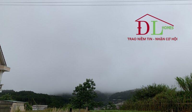 Bán đất biệt thự KQH An Sơn, P4, Đà Lạt view thông tuyệt đẹp