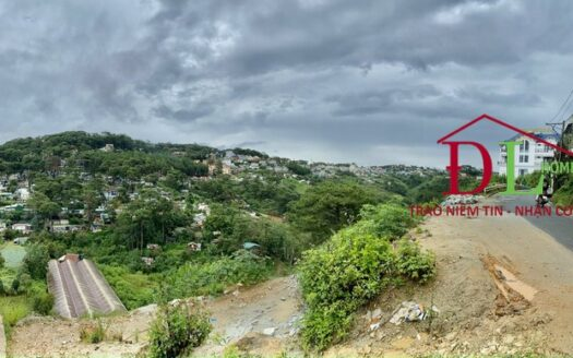 Bán lô đất hai mặt tiền Đặng Thái Thân P3 Đà Lạt view thung lũng