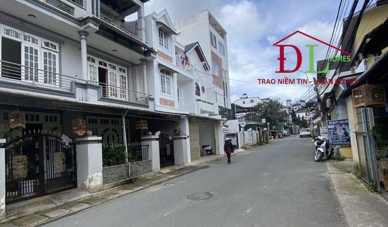 Bán lô đất mặt tiền Đồng Tâm P4 Đà Lạt thích hợp xây khách sạn
