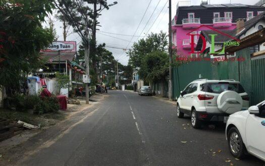 bán lô đất mặt tiền đường Huỳnh Thúc Kháng P3 Đà Lạt ngay trung tâm