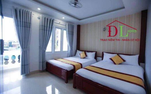 Bán khách sạn mặt tiền Hà Huy Tập P3 Đà Lạt ngay trung tâm
